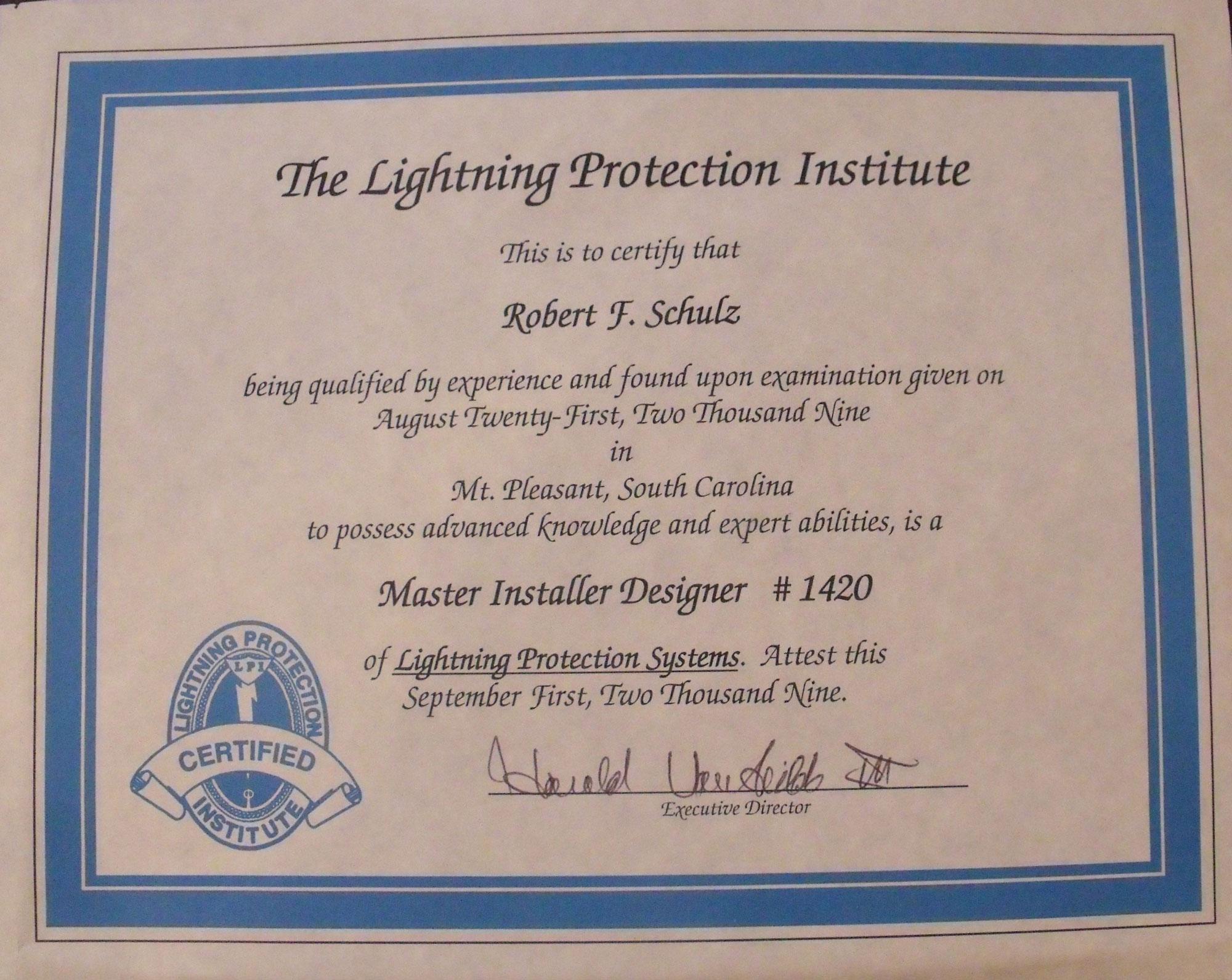 LPI-certificate