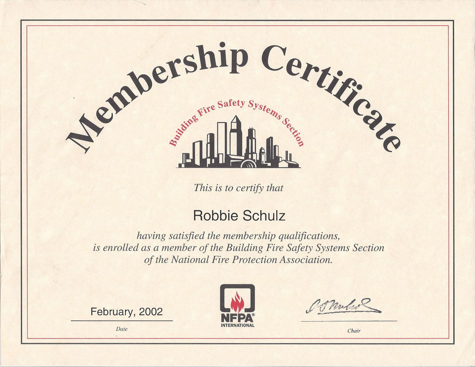 NFPA-Membership